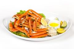 Jambes de crabe Images libres de droits