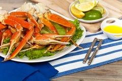 Jambes de crabe Image libre de droits