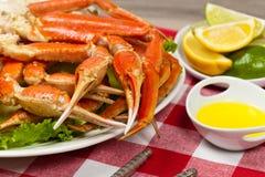 Jambes de crabe Photos libres de droits