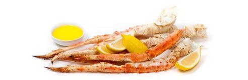 Jambes de crabe de neige Photographie stock