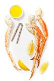 Jambes de crabe de neige Image libre de droits
