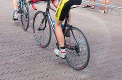 Jambes de cyclistes Images libres de droits