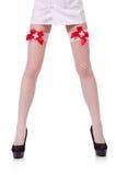 Jambes de femme Images stock
