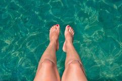 jambes de femmes Image libre de droits