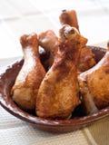 Jambes de poulet Image stock