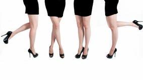 Jambes femelles Images libres de droits