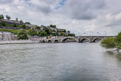 Jambes most w Namur, Belgia Obraz Stock