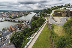 Jambes most w Namur, Belgia Obraz Royalty Free
