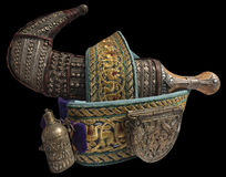 Jambiya - A Traditional Yemeni Dagger Royalty Free Stock Image