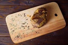 Jambon cuit au four Photo stock