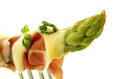 jambon d'asperge image stock