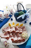 Jambon de Pâques photo stock
