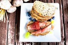 Jambon de Parme Image stock
