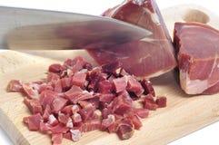 Jambon espagnol de serrano Photo stock