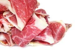 Jambon espagnol de serrano Images stock