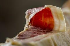 Jambon espagnol ibérien, jambon de bellota Image libre de droits