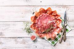 Jambon espagnol traditionnel Image libre de droits