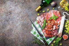 Jambon espagnol traditionnel Photo stock