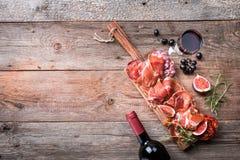 Jambon espagnol traditionnel Image stock