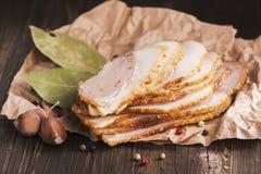 Jambon frais cuit au four Photo stock