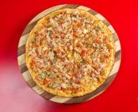 Jambon rôti par pizza images stock
