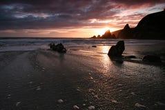 Jambons du sud de plage de Westcombe à Photos libres de droits
