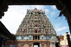 Jambukeshwara Temple Tower Royalty Free Stock Image