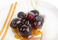 Jambul lub Jamun (Syzygium cumini) Fotografia Stock