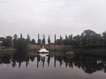 Jamburro湖 库存照片