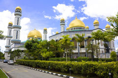 Jame'Asr Hassanil Bolkiah Mosque Royalty Free Stock Photos