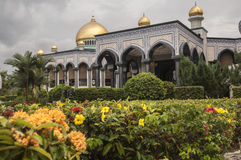 Jame Asr Hassanil Bolkiah Mosque Bandar Seri Begawan, Immagine Stock Libera da Diritti