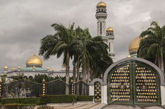 Jame Asr Hassanil Bolkiah Mosque Bandar Seri Begawan, Brunei Royalty Free Stock Photos