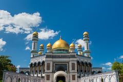 Jame'Asr Hassanil Bolkiah Mosque. In Bandar Seri Begawan, Brunei Stock Photo