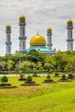 Jame Asr Hassanil Bolkiah Mosque-Brunei, Azië stock fotografie