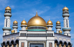 Jame'asr Hassanil Bolkiah Mosque in Brunei. Jame'asr Hassanil Bolkiah Mosque in Bandar Seri Begawan, Brunei Stock Photography