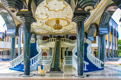 Jame Asr Hassanil Bolkiah Mosque ingang-Brunei Royalty-vrije Stock Foto's