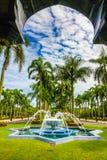 Jame Asr Hassanil Bolkiah Mosque park-Brunei, Azië Stock Foto