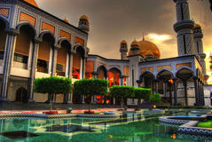 Jame Asr Mosque Royalty Free Stock Photos