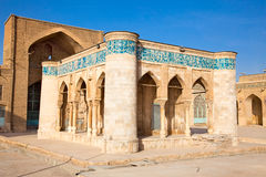 Jame Atigh oldest Mosque,  Shiraz. Jame Atigh Mosque, oldest Islamic structure dating from 894 , Shiraz, Iran Royalty Free Stock Photography