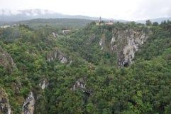 Jame de Skocjanske (caverne de Skocjan), Slovénie Image stock