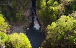 Jame de Skocjanske do local do patrimônio mundial do Unesco foto de stock royalty free