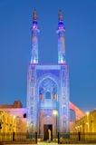 Jame Mosque de Yazd em Irã imagens de stock royalty free
