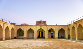 Jame Mosque of Yazd in Iran. Courtyard of the Jame Mosque of Yazd in Iran Stock Image
