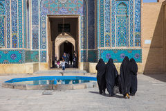 Jame Mosque of Yazd, in Iran. Royalty Free Stock Images