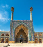 Jameh or Friday Mosque of Isfahan, Iran Royalty Free Stock Images