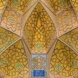 Jameh Meczetowy Isfahan Masjed-e Jamé, Iran Zdjęcia Stock