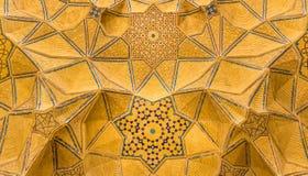 Jameh Meczetowy Isfahan Masjed-e Jamé, Iran Obrazy Royalty Free