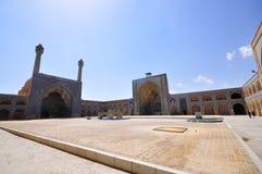 JAMEH meczetu podwórze Obrazy Stock