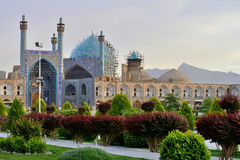 Jameh Mosque and Bazaar of Isfahan, Iran Stock Image