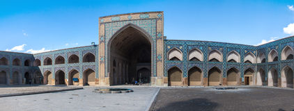Jameh Mosque in Isfahan Stock Images